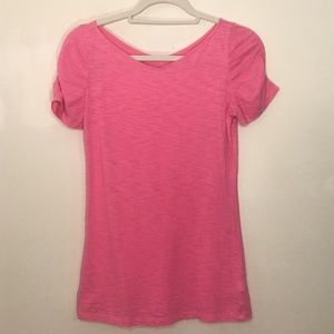 Bundle 2 Lilly Pulitzer Pink Short Sleeve Tees S